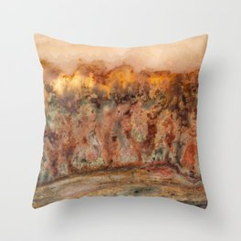Idaho Gem Stone 37 Throw Pillow