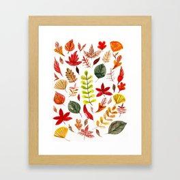 Autumn in February Framed Art Print