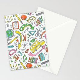 School Is Cool Stationery Cards