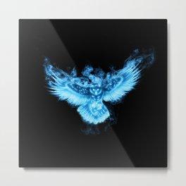 OWL PATRONUS Metal Print