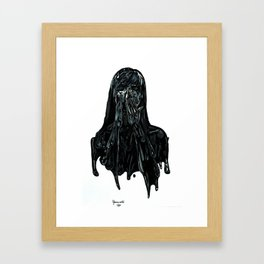Tar Road Framed Art Print