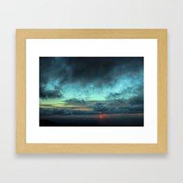 Light On The Horizon Framed Art Print