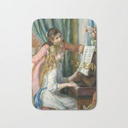 Pierre-Auguste Renoir Girls at the Piano Bath Mat