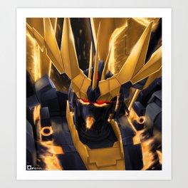 King:Banshee Art Print