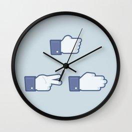 I Like Rock, Paper, Scissors Wall Clock