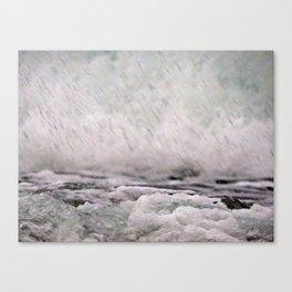 Under the Crashing Wave Canvas Print