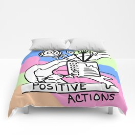 Positive Actions Comforters