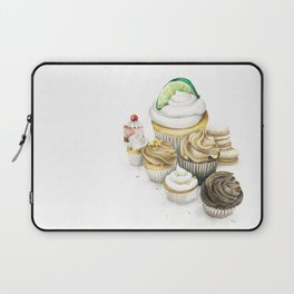 Sweet Energy Cupcakes Laptop Sleeve