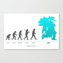 Xenoblade Chronicles X - Theory of Evolution Canvas Print