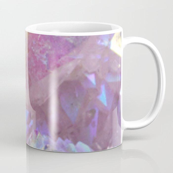 Pink Aura Crystals Coffee Mug