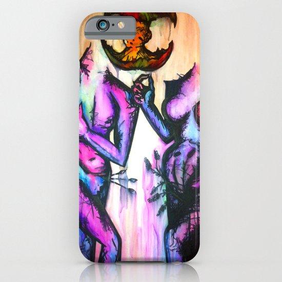 Adam and Eve iPhone & iPod Case