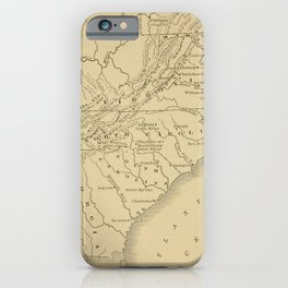 A.C. Thomas - A History of the United States (1900) - South East Coast, Georgia to Maryland, 1776 iPhone Case