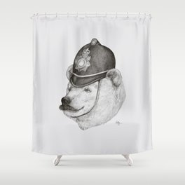 Bearly Legal Shower Curtain