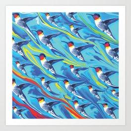 Birds of  Flight Art Print
