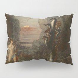 HERCULES AND THE LERNAEAN HYDRA - GUSTAVE MOREAU Pillow Sham