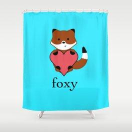 Foxy Shower Curtain