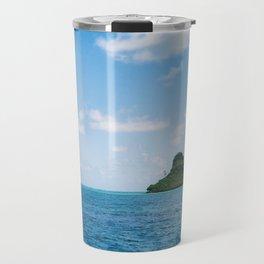 Mokolii Island Straight Ahead Travel Mug