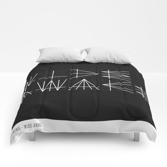 Typography Is Everything - Poster 1 Comforters