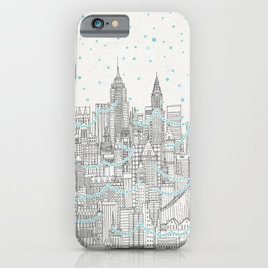Winter in New York iPhone & iPod Case