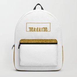 Gold Toronto Backpack