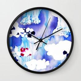 Clouds II Wall Clock