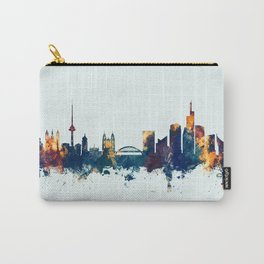 Vilnius Lithuania Skyline Carry-All Pouch
