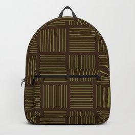 Spirit Mountain Stripe - Brown Backpack