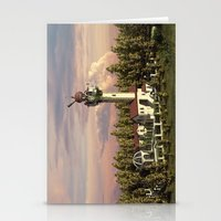 astronomy Stationery Cards featuring Astronomy tower by Alexander Atkishkin