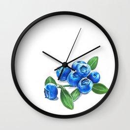 Bunch o' Blueberries Wall Clock
