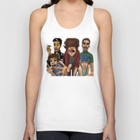 cargline Tank Tops featuring Gorillaz 1D by cargline