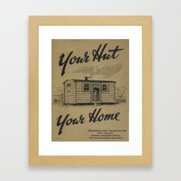 Vintage poster - New Zealand Railways Framed Art Print