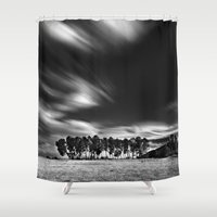 blues Shower Curtains featuring Blues... by Guido Montañés