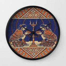 Hindu Prayer Wall Clock