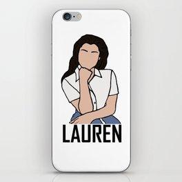 Lauren Jauregui iPhone Skin