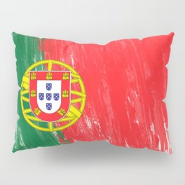Portugal's Flag Design Pillow Sham