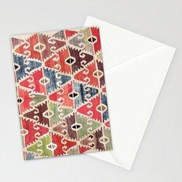 Sivrihisar  Antique Eskisehir Turkish Kilim Print Stationery Cards