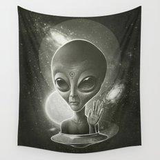Alien II Wall Tapestry