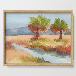 Ranch Palms Serving Tray