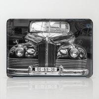 car iPad Cases featuring Vintage car by Veronika