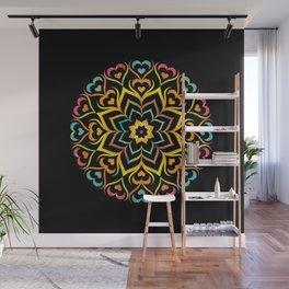 Flower Mandala Wall Mural