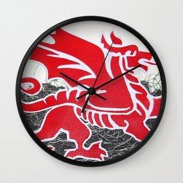 Cymru Wall Clock