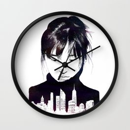 City Girl Wall Clock