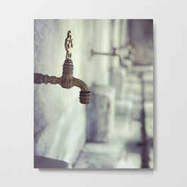 Ablution Solution Metal Print