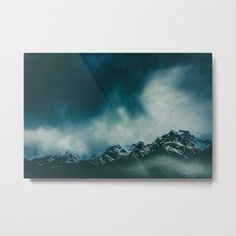 wild peaks Metal Print