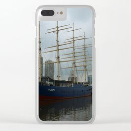 Moshulu And USS Olympia Clear iPhone Case