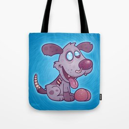 Zombie Puppy Tote Bag