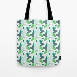 Fragmented Shapes Tote Bag