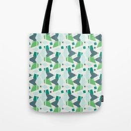 Fragmented Shapes Tote Bag