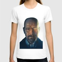 walter white T-shirts featuring Walter White by turksworks
