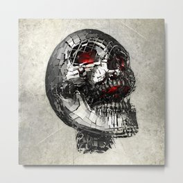 No Laughing Matter (background option) Metal Print